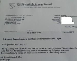 2015-06-30_Eingangsbestätigung Samtgemeinde Gronau_2
